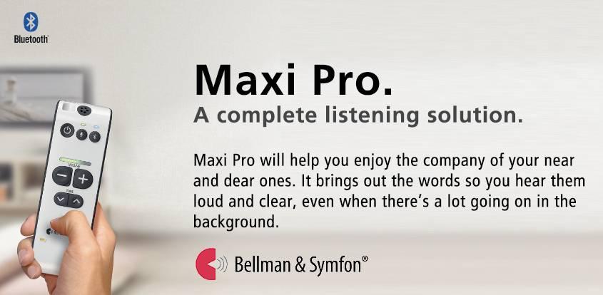 Maxi Pro Bellman hearing professionals