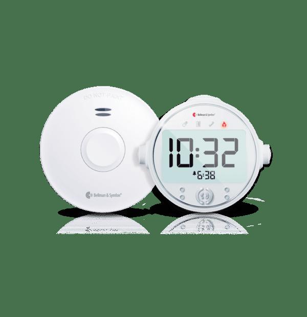 Smoke Detector and Alarm Clock
